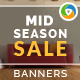 Mid Season Sale Banners - GraphicRiver Item for Sale