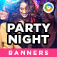 Party Night Banners - GraphicRiver Item for Sale