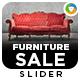 Furniture Sale Slider - GraphicRiver Item for Sale