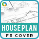 House Plan Facebook Cover - GraphicRiver Item for Sale