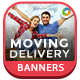 Moving Delivery Banners - GraphicRiver Item for Sale