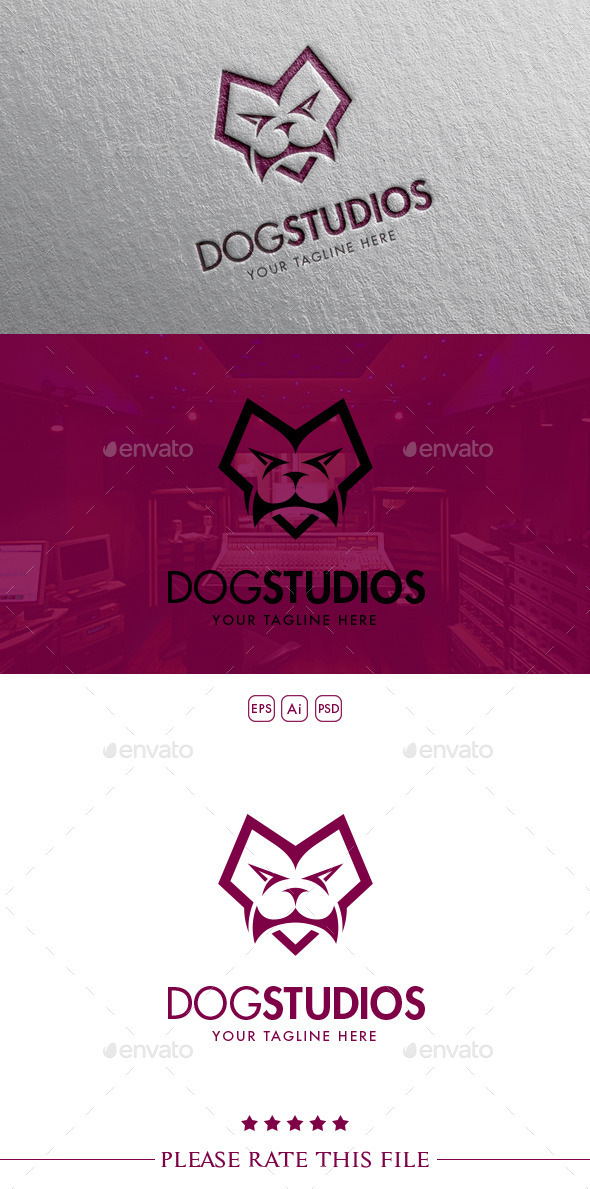 GraphicRiver Dog Studios Logo 10657275