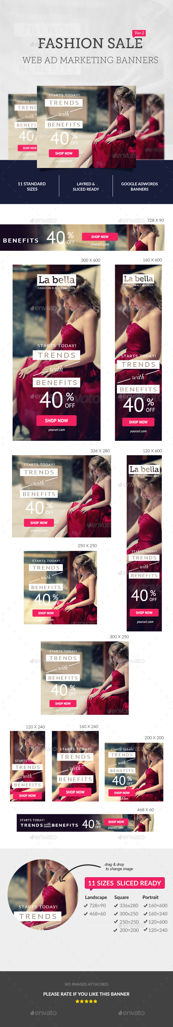 GraphicRiver Fashion Sale Ad Banners 10671351