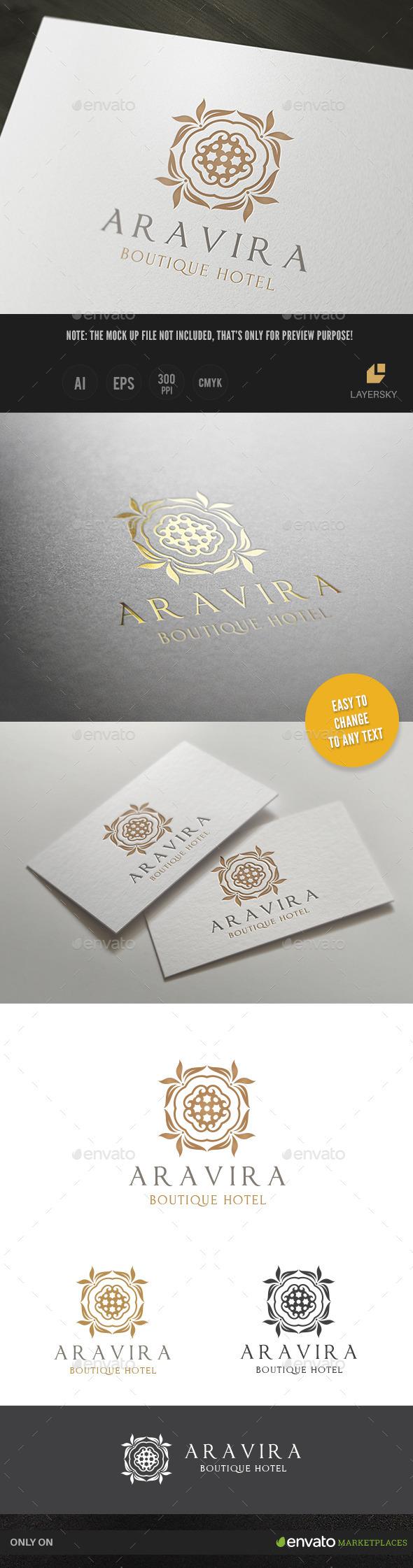 GraphicRiver Hotel Logo 10671373