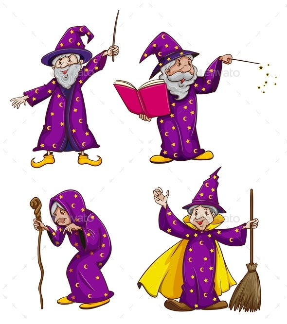 GraphicRiver Four Witches 10671383