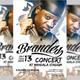 Brandes Concert Flyer - GraphicRiver Item for Sale