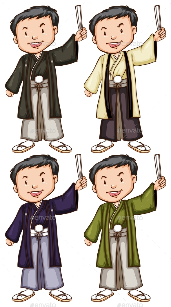 GraphicRiver Men from Asia 10671406