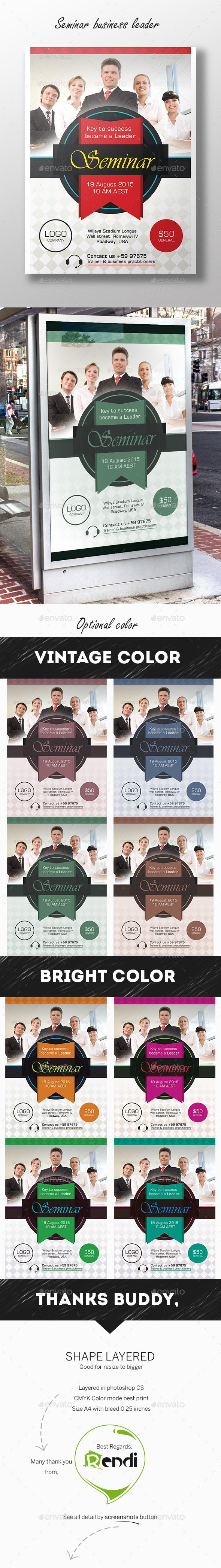 GraphicRiver Business Seminar Pro 10599642