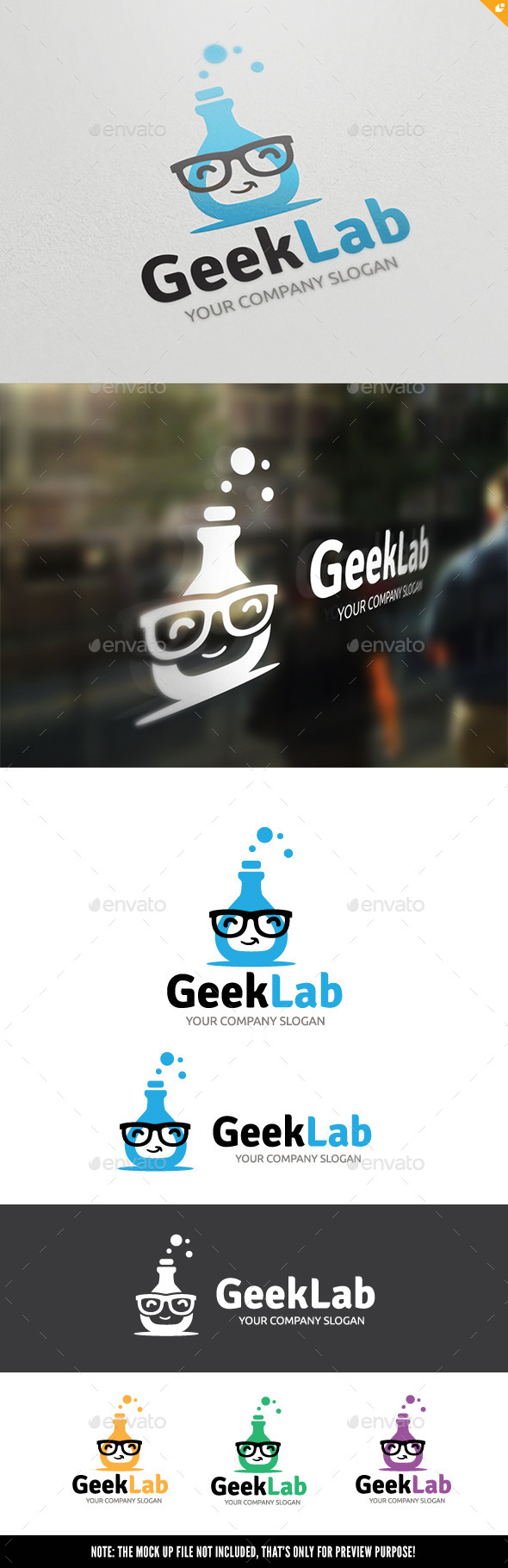 GraphicRiver Geek Lab 10671428