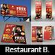 Restaurant Advertising Bundle Vol.3 - GraphicRiver Item for Sale