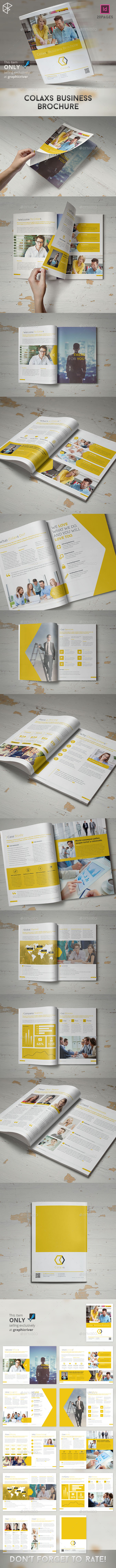 GraphicRiver Colaxs Business Brochure 10671590