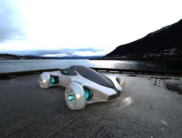 3DOcean Mercedez BIOME Concept Car 10671924