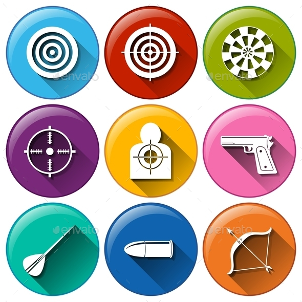 GraphicRiver Target Icons 10671925