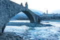Hunchback bridge. Ponte Gobbo - PhotoDune Item for Sale