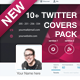 10+ Twitter Covers Pack - GraphicRiver Item for Sale