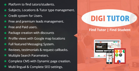 CodeCanyon Digi Tutors 10672334