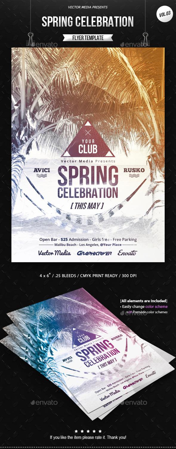 GraphicRiver Spring Celebration Flyer [Vol.3] 10672768