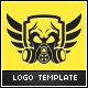 Dark Clan Logo Template - GraphicRiver Item for Sale