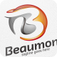 Beaumont / Abstract Letter B - Logo Template