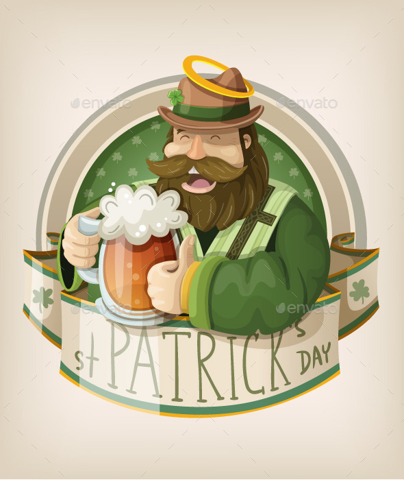 GraphicRiver Saint Patrick Day Card 10673960