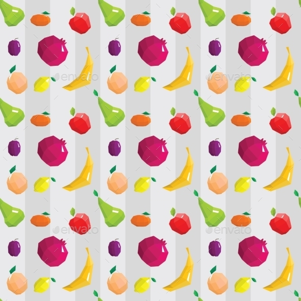 GraphicRiver Fruit Pattern 10675476
