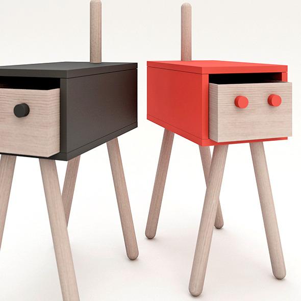 Drawer design - 3DOcean Item for Sale