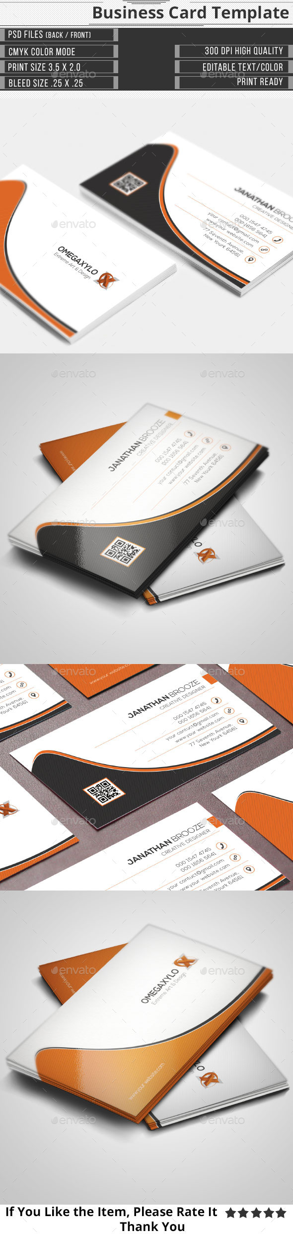 GraphicRiver Corporate Business Card 10675748