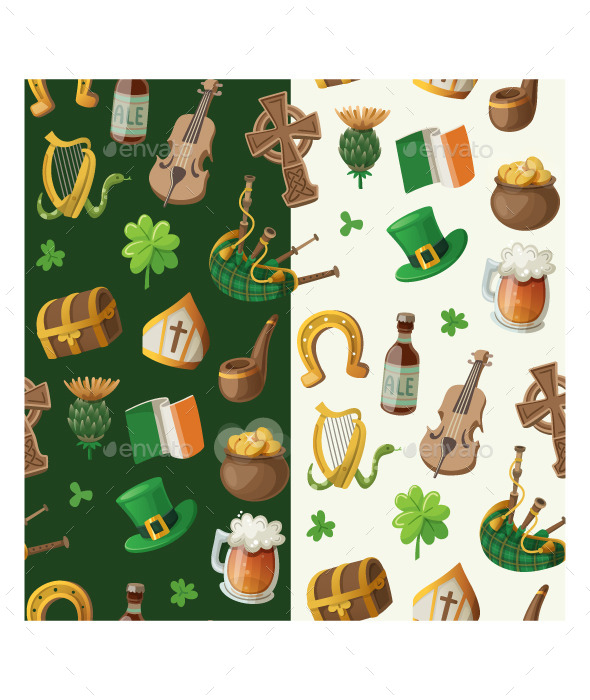 GraphicRiver Saint Patrick s Day Pattern 10675780