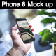 6 Realistic Phone 6 Mock-up - GraphicRiver Item for Sale