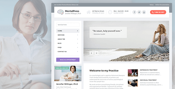 MentalPress - Psychology, Counseling & Medical WP