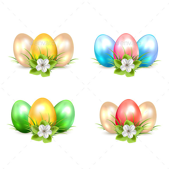 GraphicRiver Easter Eggs 10676991