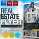 Simple Real Estate Flyer Vol.10 - GraphicRiver Item for Sale