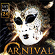 VIP Carnival - Mardi Grass Party - GraphicRiver Item for Sale