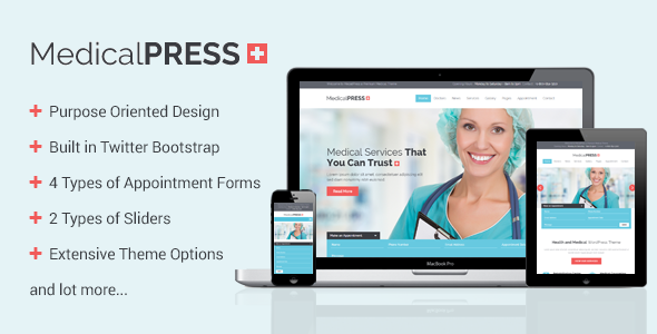 MedicalPress - Health and Medical WordPress Theme - Health & Beauty Retail