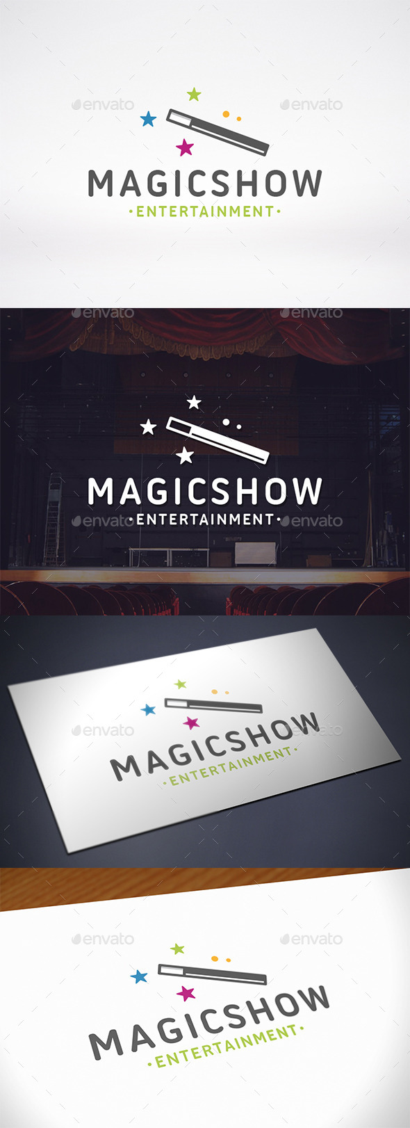 GraphicRiver Magic Logo Template 10677693