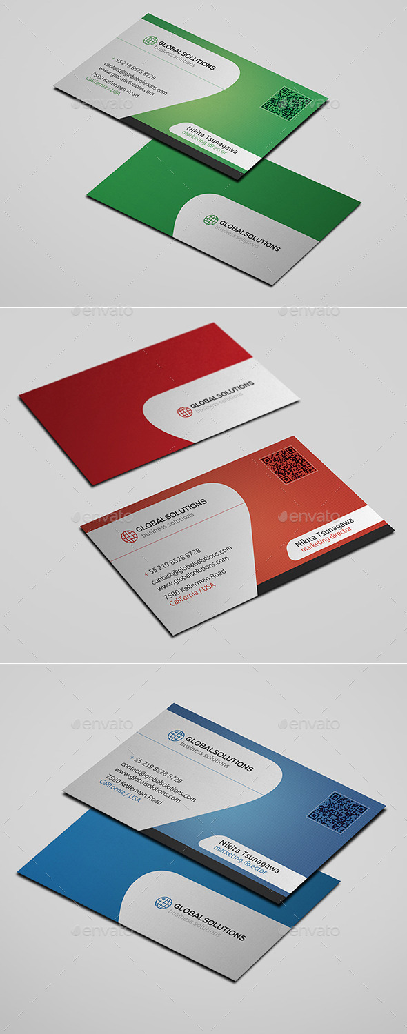GraphicRiver Corporate Business Card 24 10677893