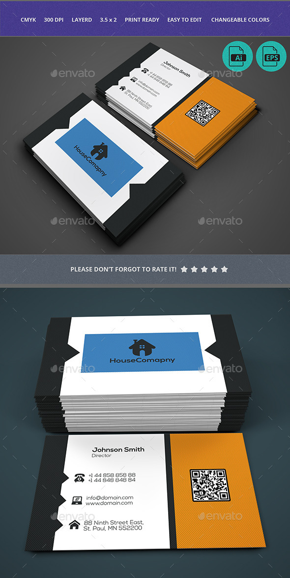 GraphicRiver Business Card Design 10678016