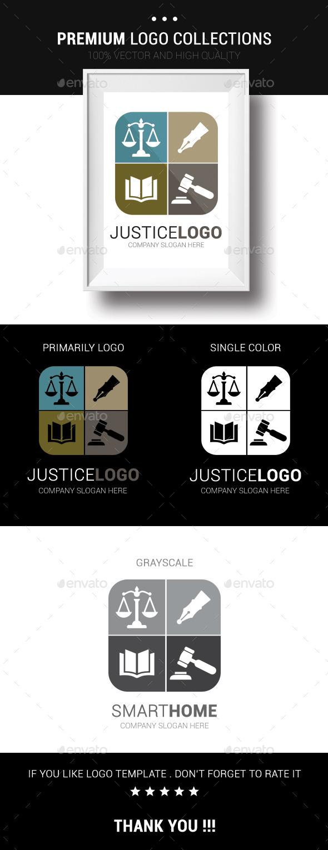 GraphicRiver Justice Logo 10678096