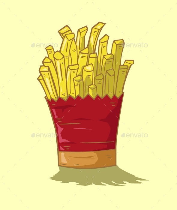 GraphicRiver French Fries Vector 10678136