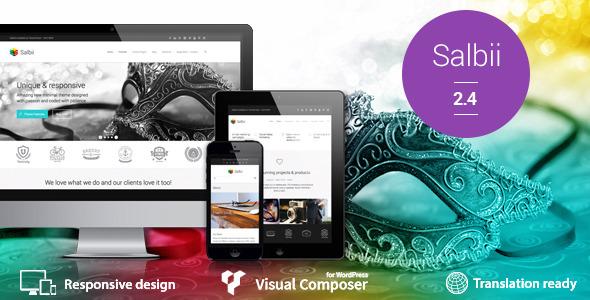 Salbii - Responsive Multi-Purpose WordPress Theme