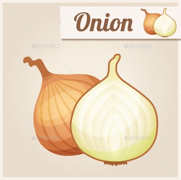 GraphicRiver Detailed Icon Onion 10678339