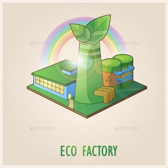 GraphicRiver Eco Factory 10678342