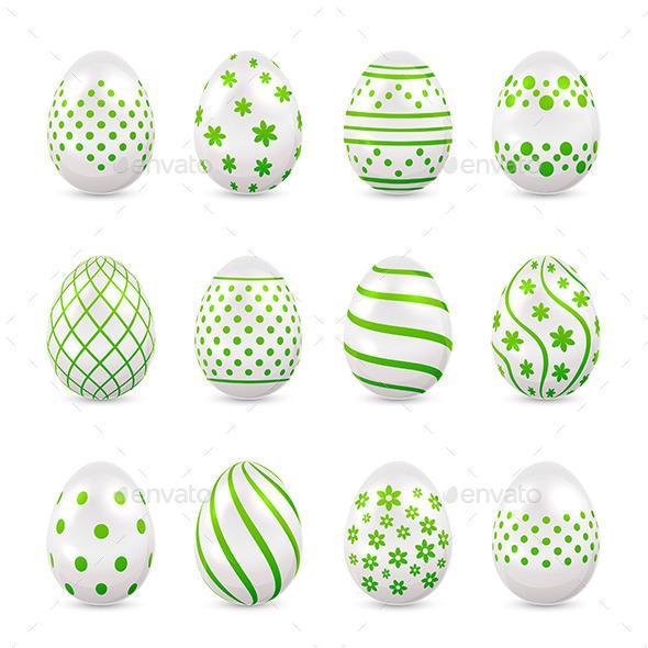 GraphicRiver Decorative Easter Eggs 10678474