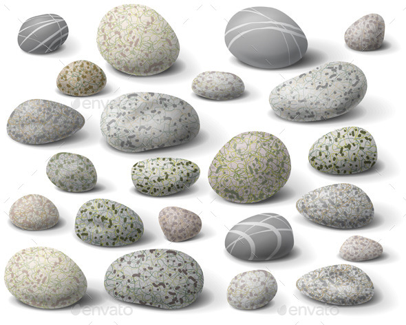 GraphicRiver Pebble Set 10678501
