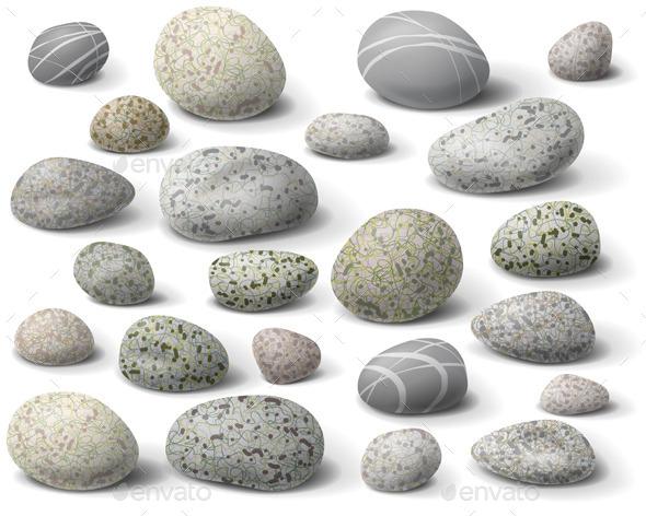 GraphicRiver Pebble Set 10678501