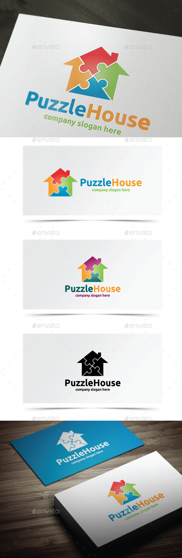 GraphicRiver Puzzle House 10678672