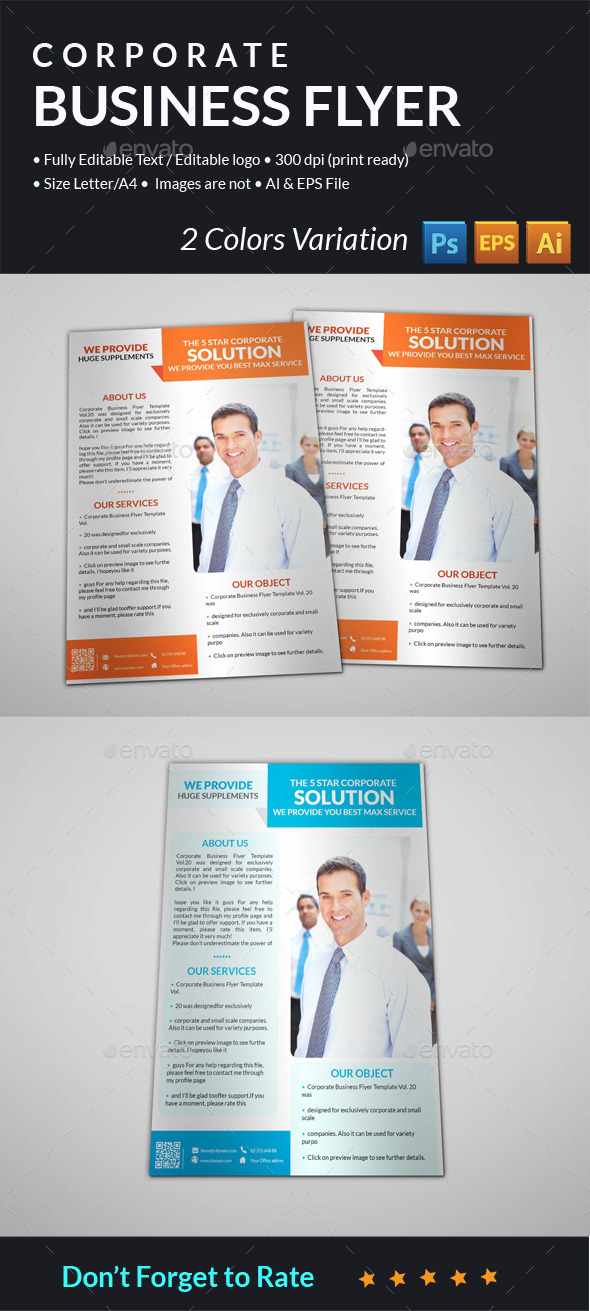 GraphicRiver Corporate Business Flyer 10678721