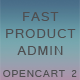 Fast Product Admin for OpenCart 2 - CodeCanyon Item for Sale