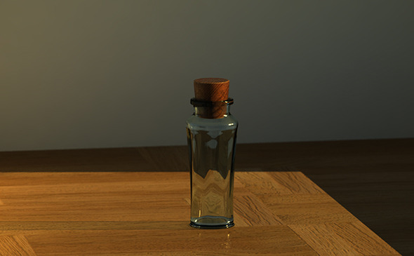 Parfume jar - 3DOcean Item for Sale