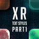 XR Photoshop Text Styles - GraphicRiver Item for Sale